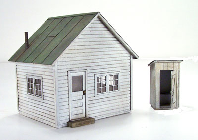 Office and Outhouse
